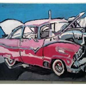 1955 Ford Pink Crown Victoria GG