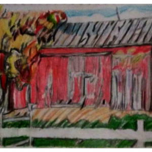 Old Mississippi Fall Barn Scene GG