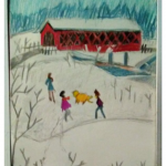 Absolutely Truly Winter Land Book Cover Art By GG