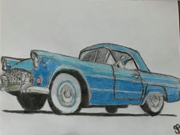 Old Blue Chevy 84 GG
